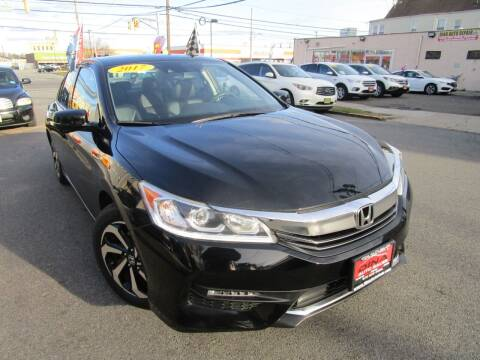 2017 Honda Accord for sale at Dina Auto Sales in Paterson NJ