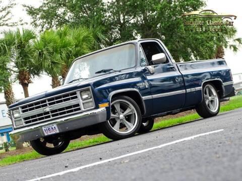 1987 Chevrolet R/V 10 Series for sale at SURVIVOR CLASSIC CAR SERVICES in Palmetto FL