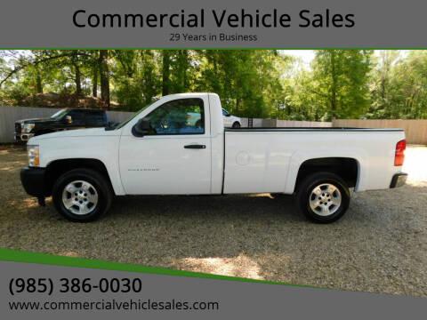 2010 Chevrolet Silverado 1500 for sale at Commercial Vehicle Sales in Ponchatoula LA