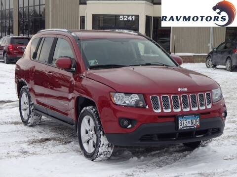 2014 Jeep Compass for sale at RAVMOTORS 2 in Crystal MN