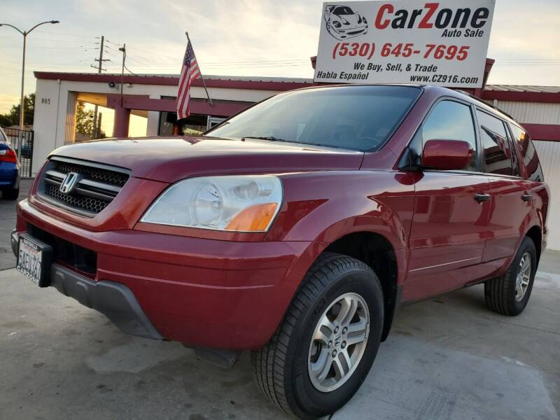 2003 Honda Pilot for sale at CarZone in Marysville CA