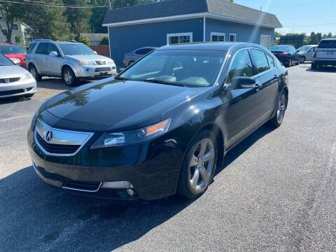 2013 Acura TL for sale at Erie Shores Car Connection in Ashtabula OH