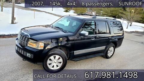 2007 Lincoln Navigator for sale at Wheeler Dealer Inc. in Acton MA