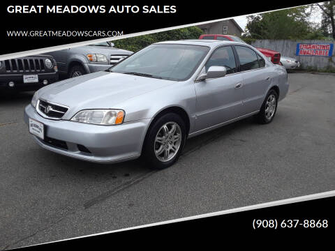2001 Acura TL for sale at GREAT MEADOWS AUTO SALES in Great Meadows NJ