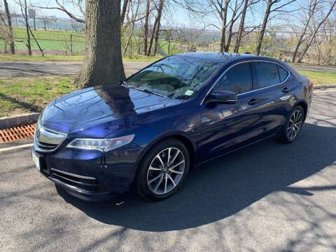 2017 Acura TLX for sale at Crazy Cars Auto Sale in Jersey City NJ