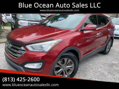 2013 Hyundai Santa Fe Sport for sale at Blue Ocean Auto Sales LLC in Tampa FL