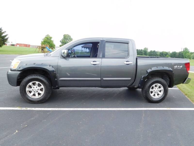 2004 Nissan Titan for sale at WESTERN RESERVE AUTO SALES in Beloit OH