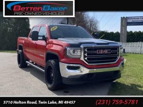 2016 GMC Sierra 1500 for sale at Betten Baker Preowned Center in Twin Lake MI
