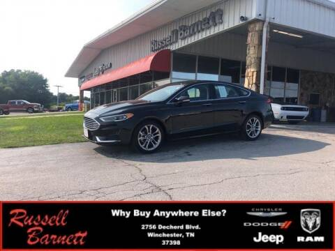 2019 Ford Fusion for sale at Russell Barnett Chrysler Dodge Jeep Ram in Winchester TN