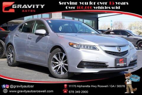 2015 Acura TLX for sale at Gravity Autos Roswell in Roswell GA
