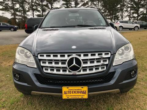 2011 Mercedes-Benz M-Class for sale at Greenville Motor Company in Greenville NC