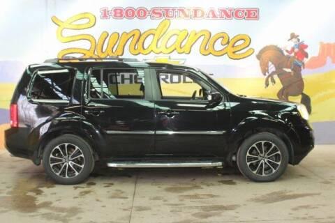 2012 Honda Pilot for sale at Sundance Chevrolet in Grand Ledge MI