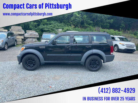 2008 Dodge Nitro for sale at Compact Cars of Pittsburgh in Pittsburgh PA