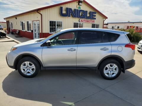 "2015 Toyota RAV4 for sale at UNIQUE AUTOMOTIVE ""BE UNIQUE"" in Garden City KS"