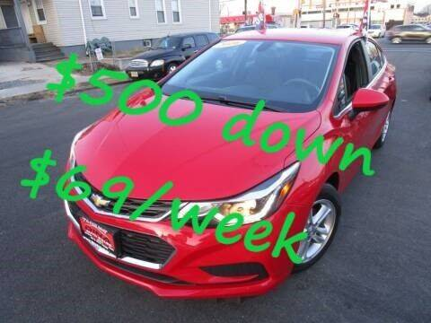 2016 Chevrolet Cruze for sale at Dina Auto Sales in Paterson NJ