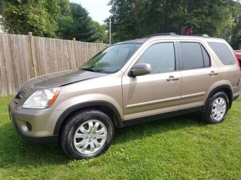 2005 Honda CR-V for sale at ALL Motor Cars LTD in Tillson NY