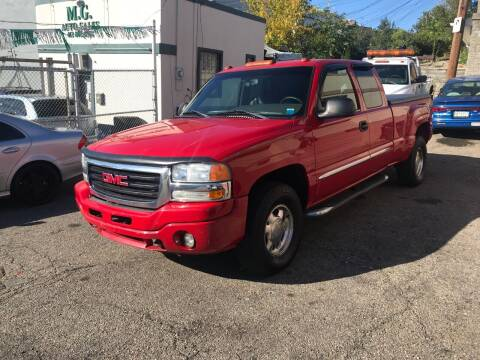 2003 GMC Sierra 1500 for sale at MG Auto Sales in Pittsburgh PA