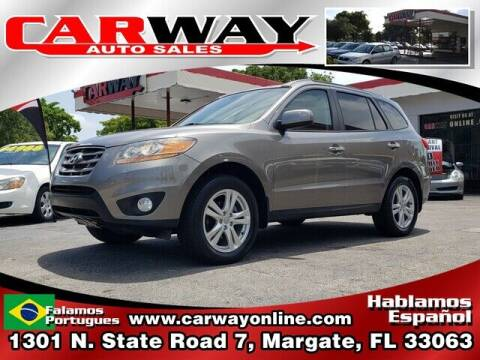 2011 Hyundai Santa Fe for sale at CARWAY Auto Sales in Margate FL