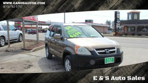 2004 Honda CR-V for sale at E & S Auto Sales in Crest Hill IL