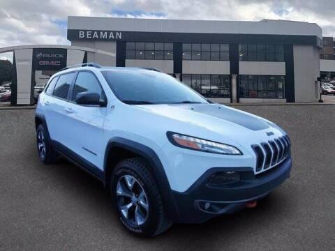 2018 Jeep Cherokee for sale at BEAMAN TOYOTA - Beaman Buick GMC in Nashville TN