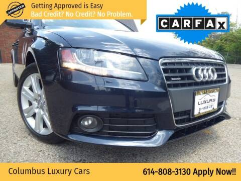 2011 Audi A4 for sale at Columbus Luxury Cars in Columbus OH
