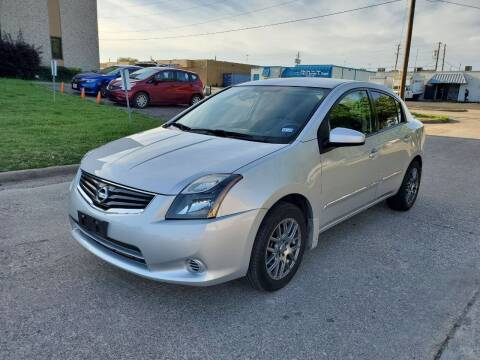 2012 Nissan Sentra for sale at DFW Autohaus in Dallas TX