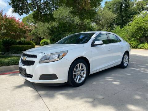 2013 Chevrolet Malibu for sale at Motorcars Group Management - Bud Johnson Motor Co in San Antonio TX