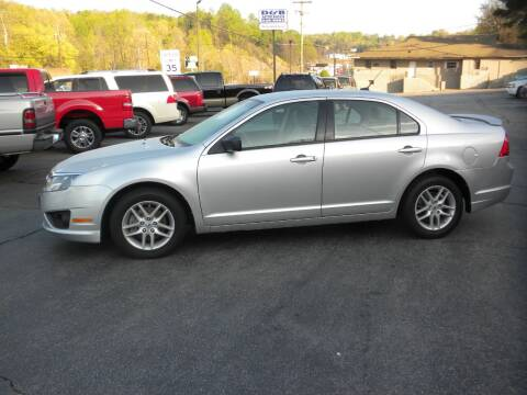 2012 Ford Fusion for sale at D & B Auto Sales & Service in Martinsville VA