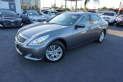 2011 Infiniti G25 Sedan for sale at Industry Motors in Sacramento CA