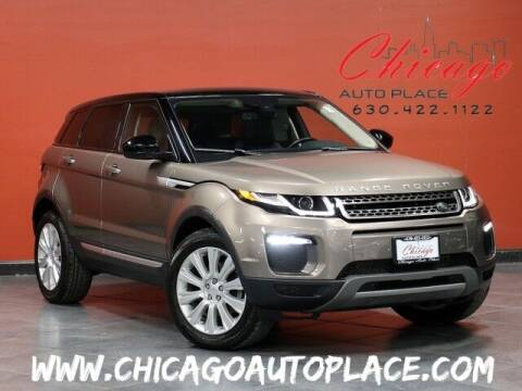 2017 Land Rover Range Rover Evoque for sale at Chicago Auto Place in Bensenville IL