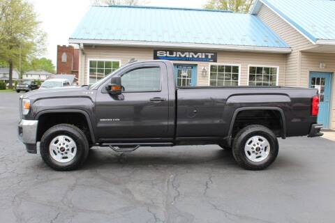 2016 GMC Sierra 2500HD for sale at Summit Motorcars in Wooster OH