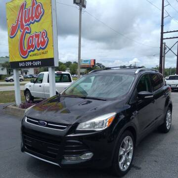 2014 Ford Escape for sale at Auto Cars in Murrells Inlet SC