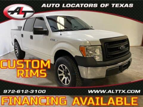 2013 Ford F-150 for sale at AUTO LOCATORS OF TEXAS in Plano TX