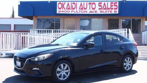 2016 Mazda MAZDA3 for sale at Okaidi Auto Sales in Sacramento CA