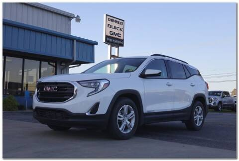 2018 GMC Terrain for sale at STRICKLAND AUTO GROUP INC in Ahoskie NC