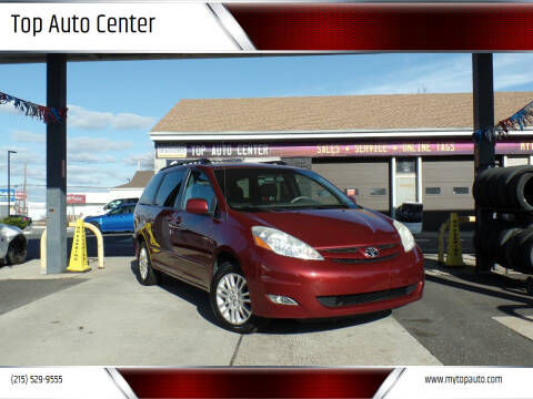 2008 Toyota Sienna for sale at Top Auto Center in Quakertown PA