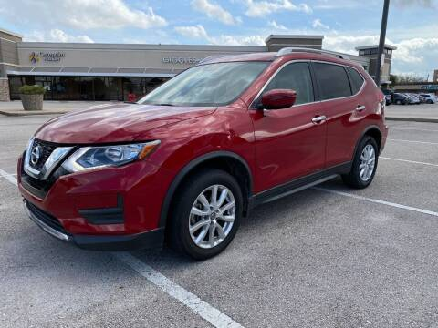 2017 Nissan Rogue for sale at T.S. IMPORTS INC in Houston TX