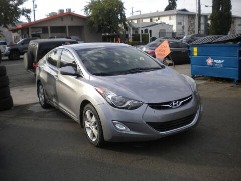 2013 Hyundai Elantra for sale at AUTO SELLERS INC in San Diego CA