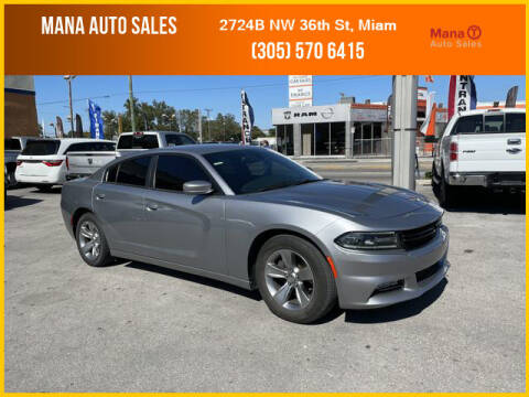 2016 Dodge Charger for sale at MANA AUTO SALES in Miami FL