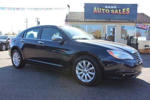 2014 Chrysler 200 for sale at BANK AUTO SALES in Wayne MI