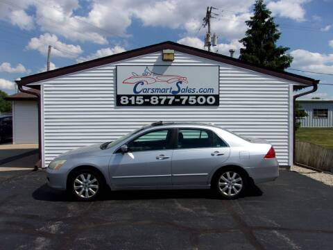 2007 Honda Accord for sale at CARSMART SALES INC in Loves Park IL