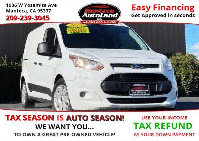 2016 Ford Transit Connect Cargo for sale at Manteca Auto Land in Manteca CA