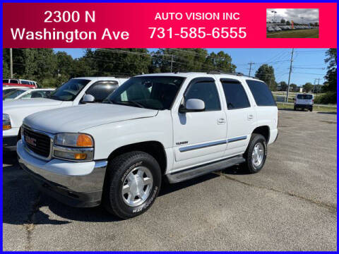 2005 GMC Yukon for sale at Auto Vision Inc. in Brownsville TN