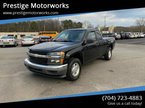 2007 Chevrolet Colorado for sale at Prestige Motorworks in Concord NC