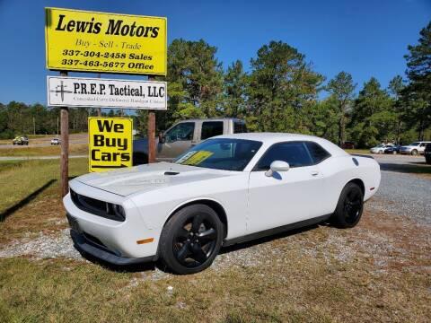 2014 Dodge Challenger for sale at Lewis Motors LLC in Deridder LA