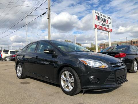 2014 Ford Focus for sale at AutoLink LLC in Dayton OH