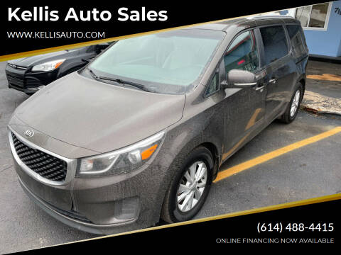 2016 Kia Sedona for sale at Kellis Auto Sales in Columbus OH