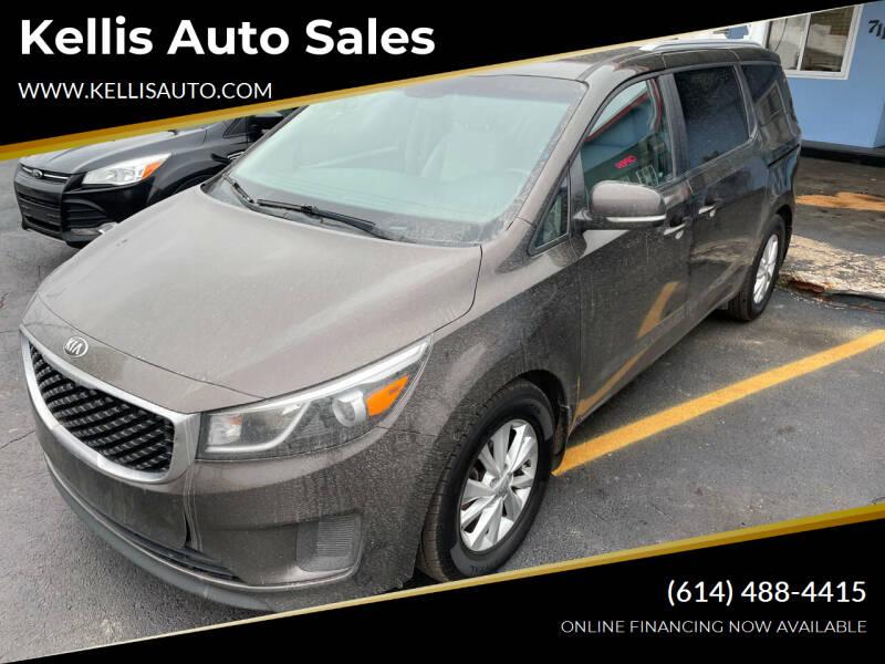 2016 Kia Sedona for sale at Kellis Auto Sales in Columbus OH