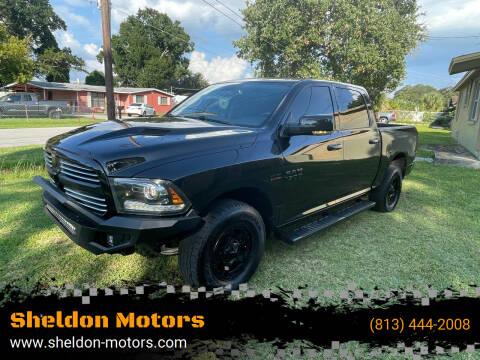 2015 RAM Ram Pickup 1500 for sale at Sheldon Motors in Tampa FL