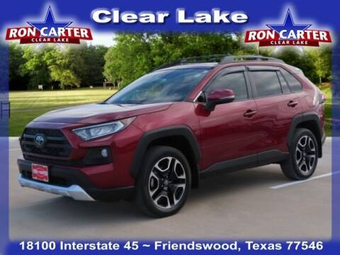 2019 Toyota RAV4 for sale at Ron Carter  Clear Lake Used Cars in Houston TX